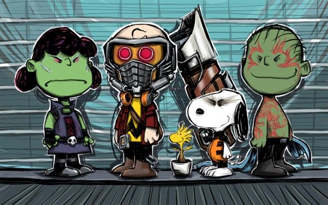 Peanuts of the Galaxy by artist Matthew J Fletcher