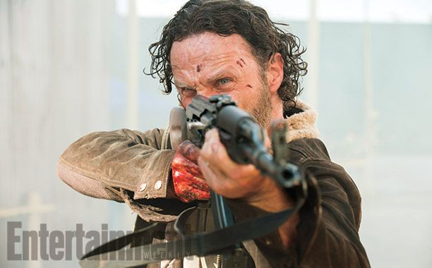 Rick Grimes (Andrew Lincoln) Image Credit Gene Page_AMC