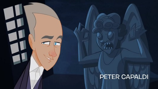 The Animated Adventures of Doctor Who_Peter Capaldi