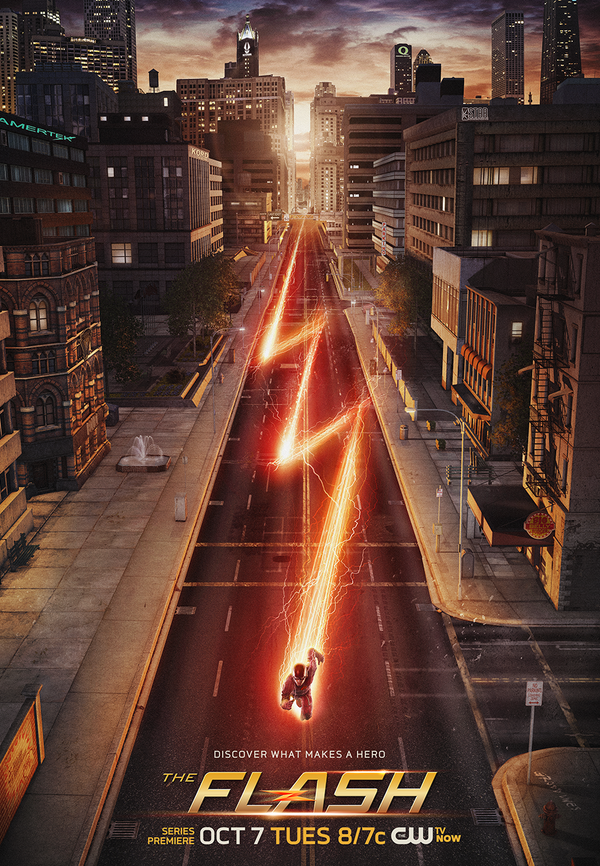 The Flash_Promo Poster