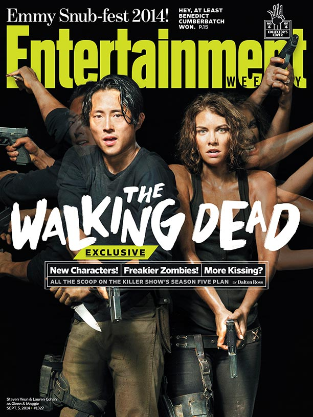 The Walking Dead_Maggie and Glenn
