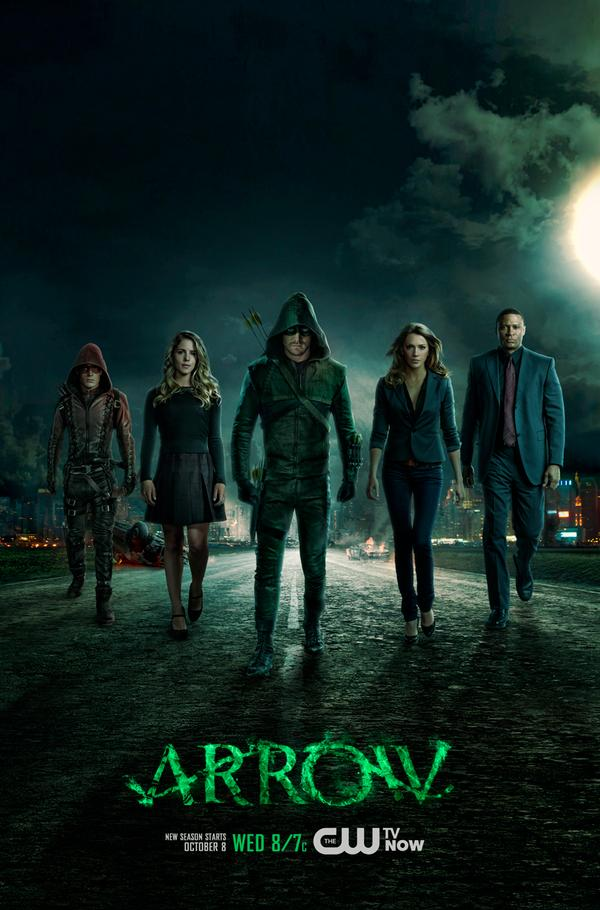 Arrow_Season 3_Poster