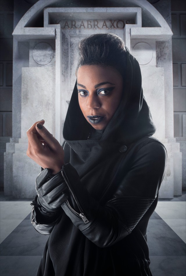 Doctor Who_Series 8_Episode 5_Time Heist_Character Portraits