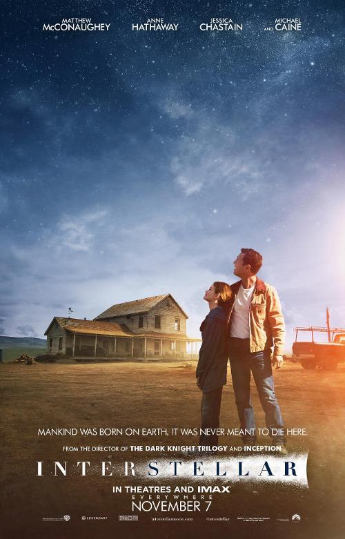Interstellar_Poster_Matthew McConaughey and Mackenzie Foy