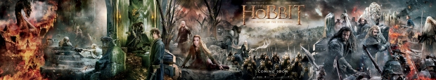 The Hobbit_The Battle of the Five Armies_Banner Tapestry
