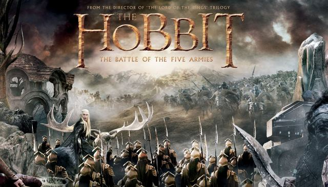 The Hobbit_The Battle of the Five Armies_Banner Tapestry2