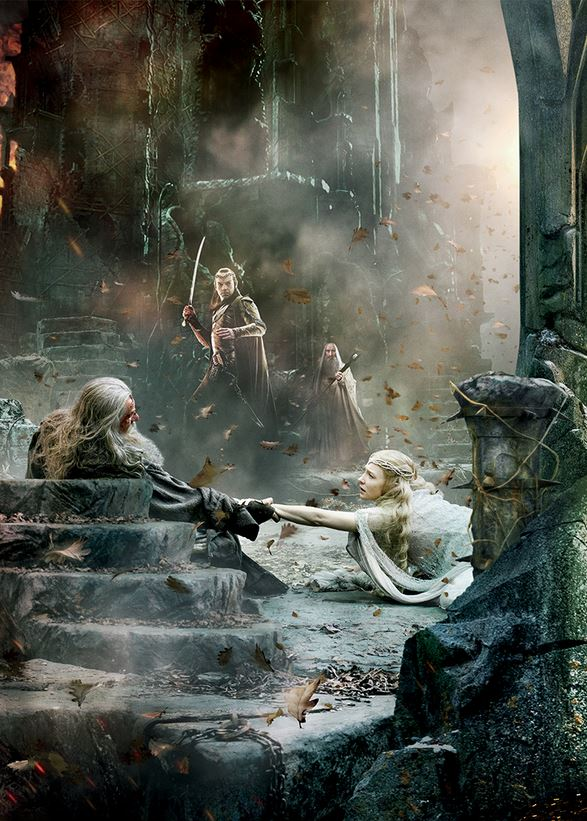 The Hobbit_The Battle of the Five Armies_Banner Tapestry_Gandalf