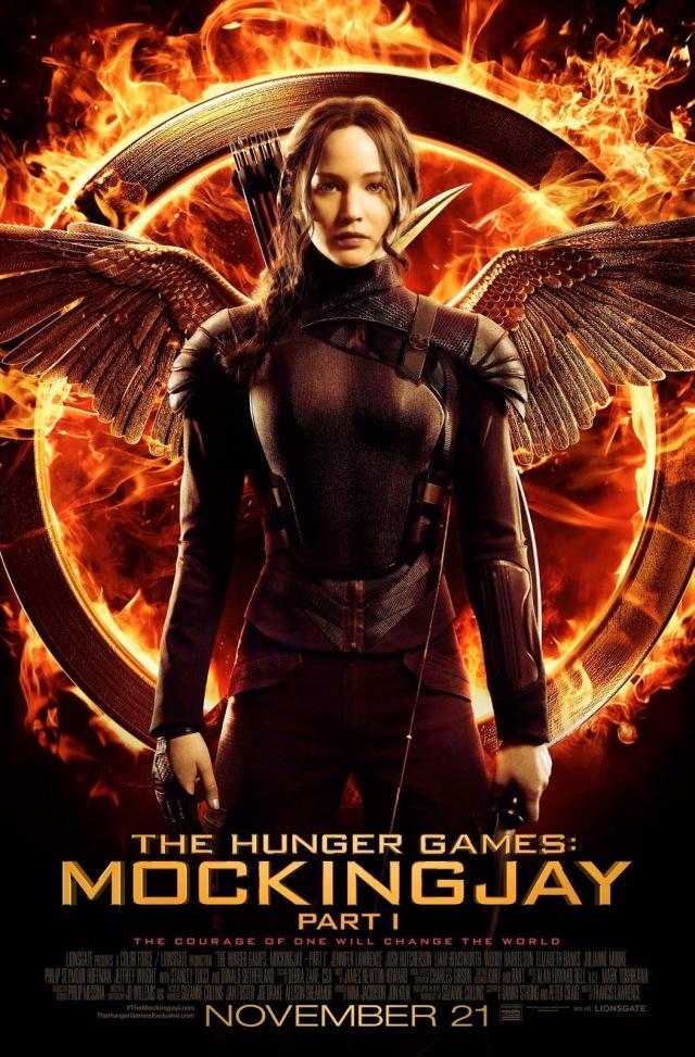 The Hunger Games_Mockingjay_Part 1_Katniss Poster