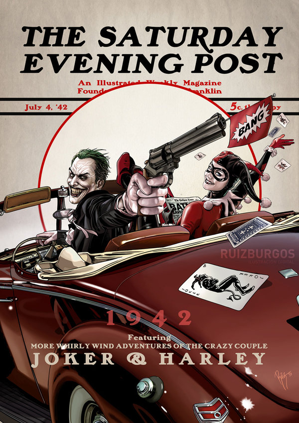 The Saturday Evening Post Series by OnlyMilo