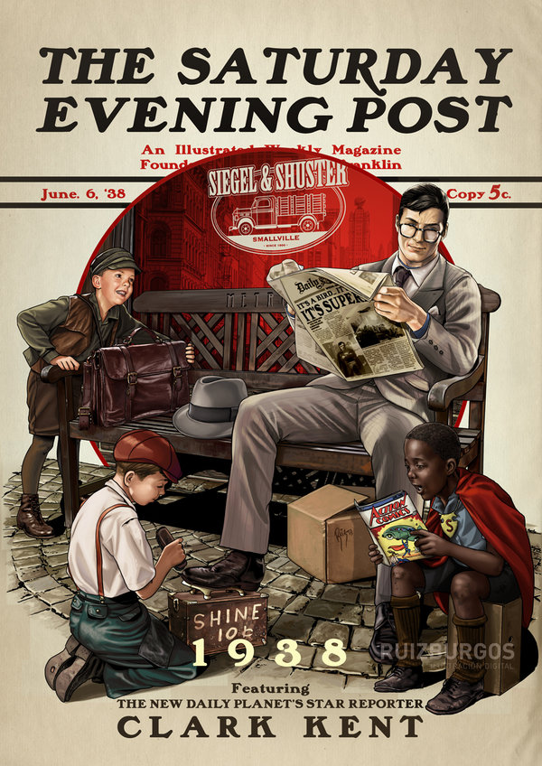 The Saturday Evening Post Series by OnlyMilo4
