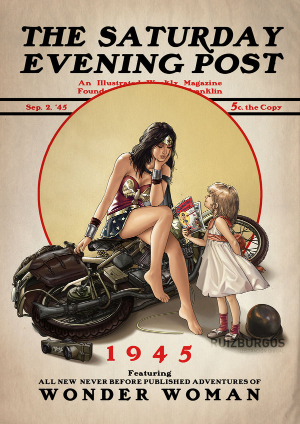 The Saturday Evening Post Series by OnlyMilo5