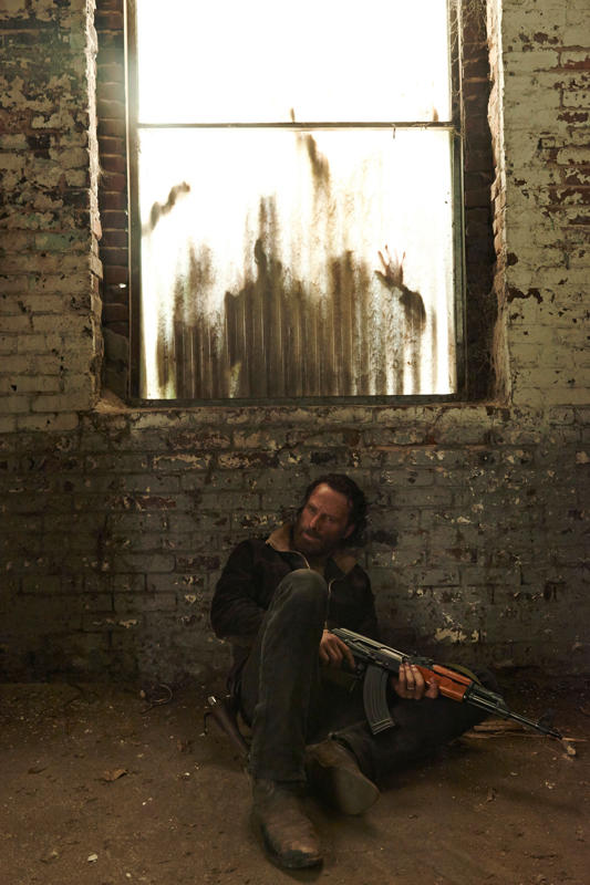 Andrew Lincoln as Rick Grimes - Photo Credit: Frank Ockenfels 3/AMC
