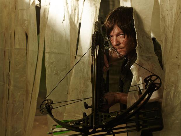 Norman Reedus as Daryl Dixon - Photo Credit: Frank Ockenfels 3/AMC