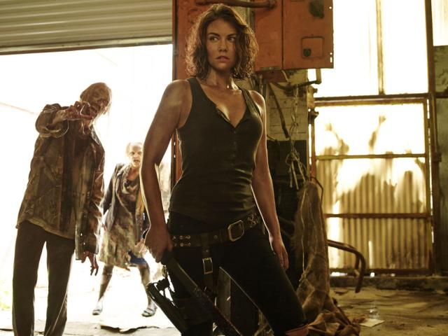 Lauren Cohan as Maggie Greene - Photo Credit: Frank Ockenfels 3/AMC