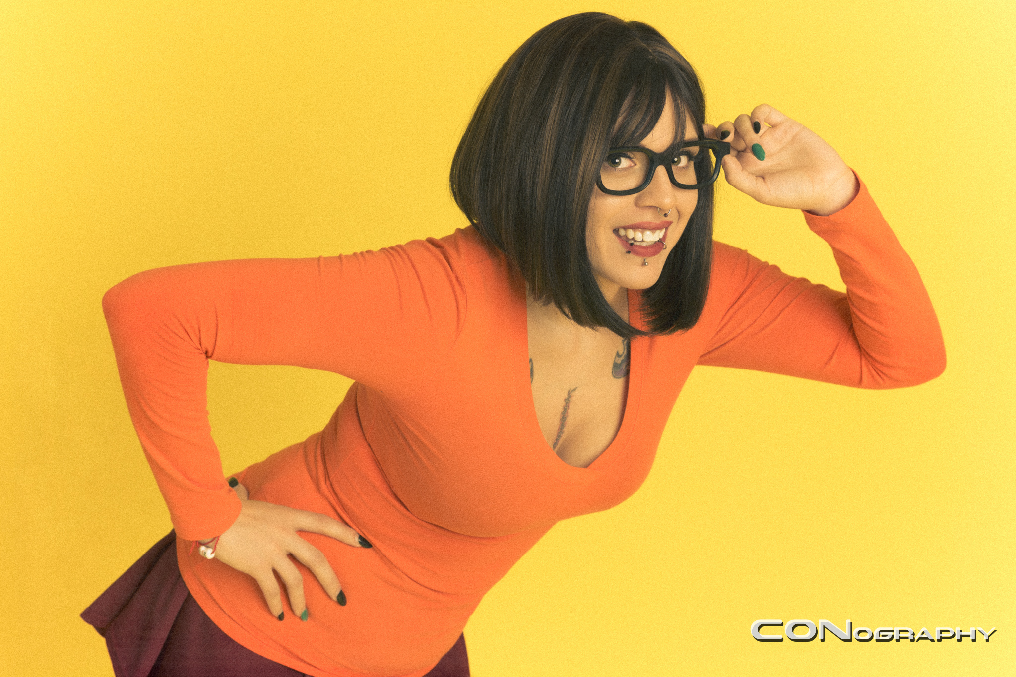 Sexy velma from scooby doo have