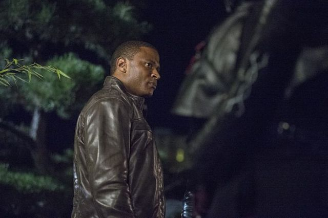 "Arrow -- ""The Magician"" Pictured: David Ramsey as John Diggle -- Photo: Cate Cameron/The CW -- © 2014 The CW Network, LLC. All Rights Reserved."