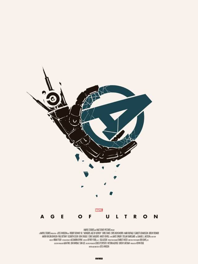 Avengers_Age of Ultron_Poster by Matt Ferguson