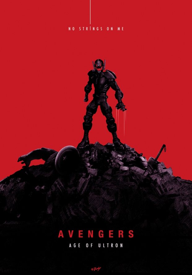 Avengers_Age of Ultron_Ultron Poster by Doaly