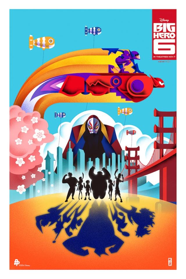 Big Hero 6_Poster Posse_NYCC2014
