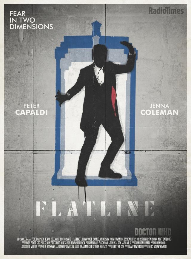 Doctor Who_Flatline_Retro Poster