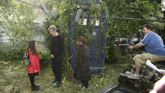 Doctor Who_Series 8_Episode 10_In the Forest of the Night_BTS (3)