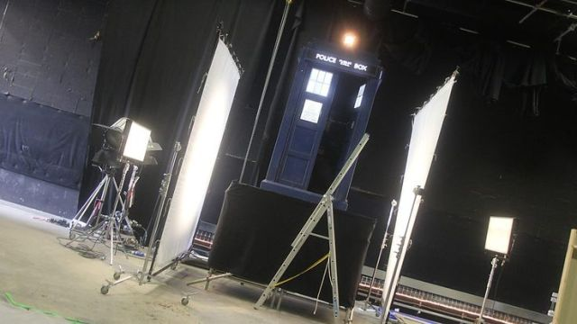 Doctor Who_Series 8_Episode 10_In the Forest of the Night_BTS (6)