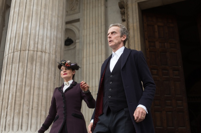 Picture shows: (l-r) MICHELLE GOMEZ as Missy, PETER CAPALDI as The Doctor
