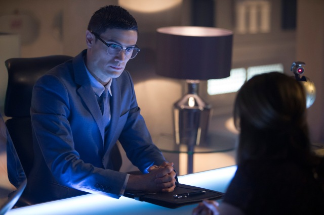 Picture shows: (l-r) ANDREW LEUNG as Dr Chang, JENNA COLEMAN as Clara