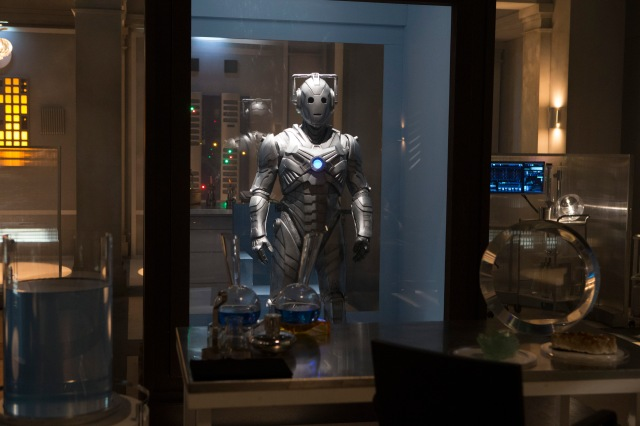 Picture shows: Cyberman