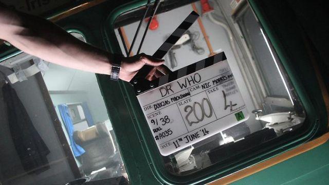 Doctor Who_Series 8_Episode 9_Flatline_BTS (3)
