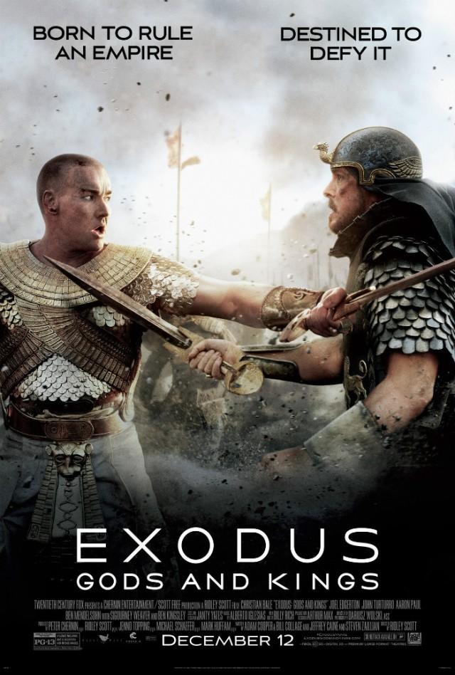 Exodus_Gods and Kings_Poster_Christian Bale and Joel Edgerton