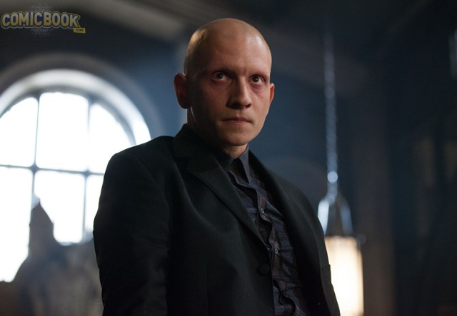"""GOTHAM: Anthony Carrigan guest-stars as Victor Zsasz in the """"Penguin's Umbrella"""" episode of GOTHAM airing Monday, Nov. 3 (8:00-9:00 PM ET/PT) on FOX. ©2014 Fox Broadcasting Co. Cr: Jessica Miglio/FOX"""