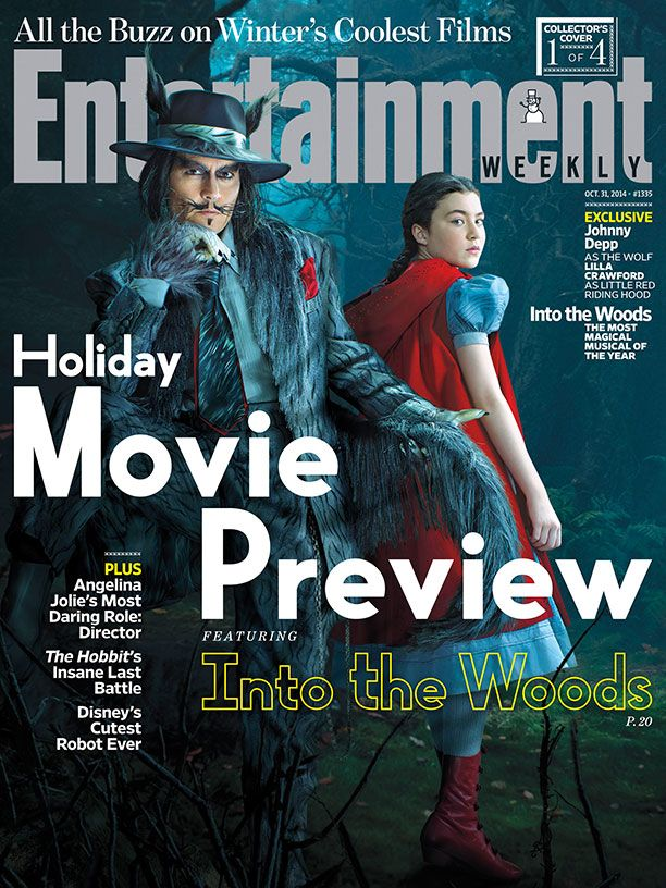 Into The Woods_Entertainment Weekly Cover