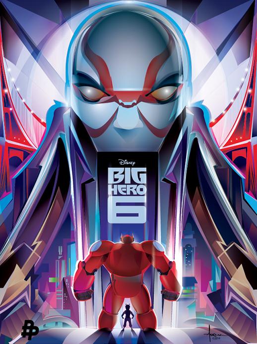 Orlando Arocena_Poster_Big Hero 6