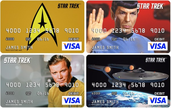 CARD.COM STAR TREK PREPAID VISAS
