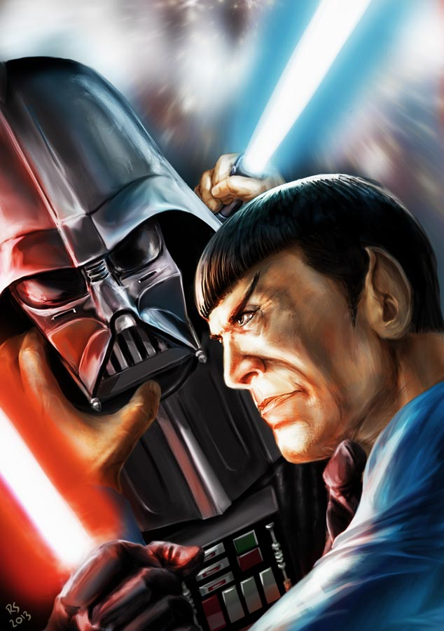 star_wars_meets_star_trek___vader_vs_spock_by_rhymesyndicate-d5trbaj