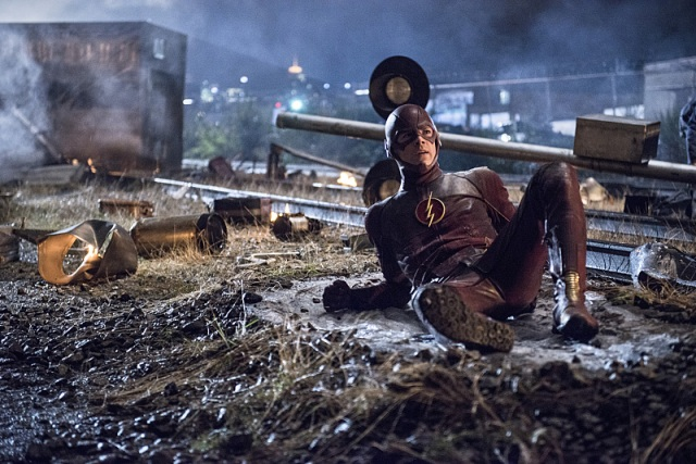 "The Flash -- ""Going Rogue"" Pictured: Grant Gustin as The Flash -- Photo: Cate Cameron/The CW -- © 2014 The CW Network, LLC. All rights reserved."