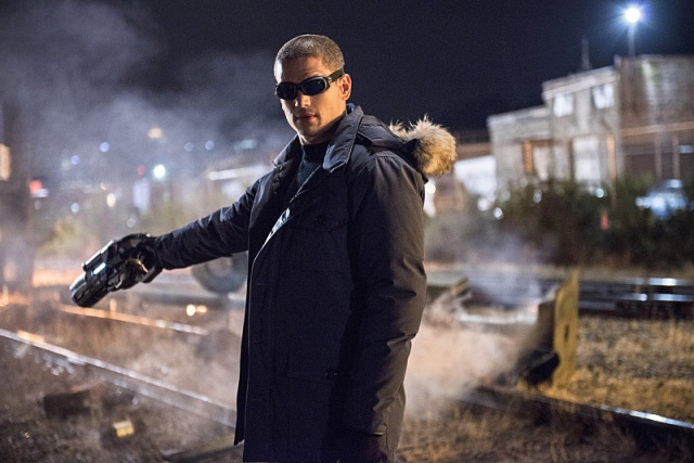 "The Flash -- ""Going Rogue"" Pictured: Wentworth Miller as Leonard Snart -- Photo: Cate Cameron/The CW -- © 2014 The CW Network, LLC. All rights reserved."