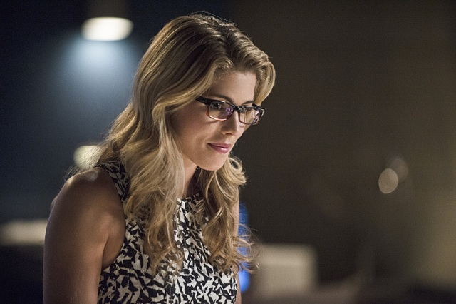 "The Flash -- ""Going Rogue"" Pictured: Emily Bett Rickards as Felicity Smoak -- Photo: Cate Cameron/The CW -- © 2014 The CW Network, LLC. All rights reserved."