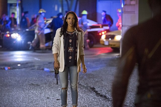 """The Flash -- """"Plastique""""  Pictured: Candice Patton as Iris West -- Photo: Jack Rowand/The CW -- © 2014 The CW Network, LLC. All rights reserved."""
