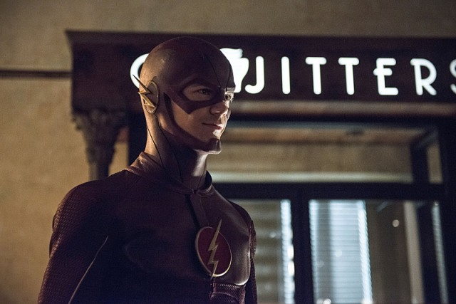 """The Flash -- """"Plastique""""  Pictured: Grant Gustin as The Flash -- Photo: Cate Cameron /The CW -- © 2014 The CW Network, LLC. All rights reserved."""