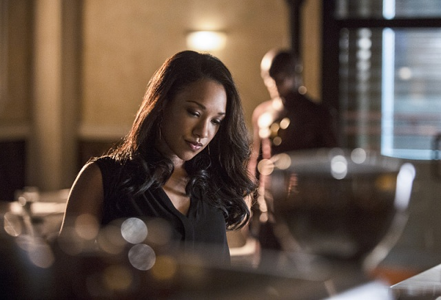 """The Flash -- """"Plastique"""" Pictured: Candice Patton as Iris West -- Photo: Cate Cameron /The CW -- © 2014 The CW Network, LLC. All rights reserved."""