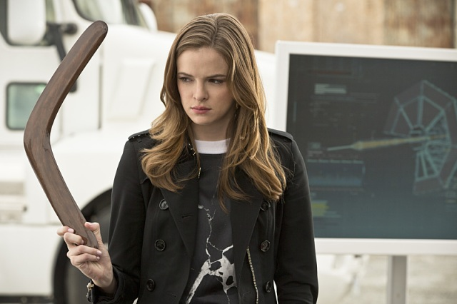"""The Flash -- """"Plastique""""  Pictured: Danielle Panabaker as Caitlin Snow -- Photo: Jack Rowand/The CW -- © 2014 The CW Network, LLC. All rights reserved."""