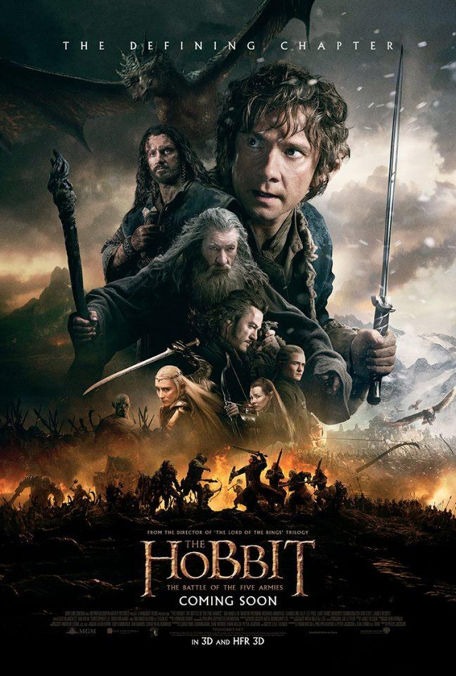 The Hobbit_Battle of the Five Armies_Final Poster