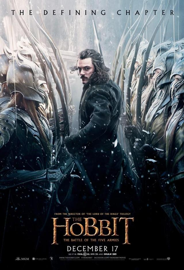 The Hobbit_The Battle of the Five Armies_Poster_Bard the Bowman