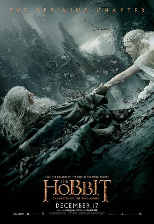 The Hobbit_The Battle of the Five Armies_Poster_Galadriel and Gandalf