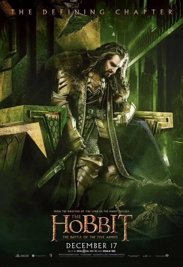 The Hobbit_The Battle of the Five Armies_Poster_Thorin