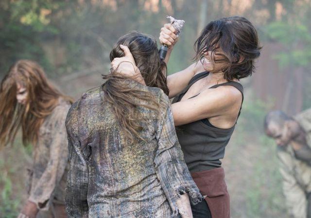 Maggie Greene (Lauren Cohan) in Episode 1 Photo by Gene Page/AMC