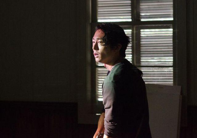 Glenn Rhee (Steven Yeun) in Episode 2 Photo by Gene Page/AMC