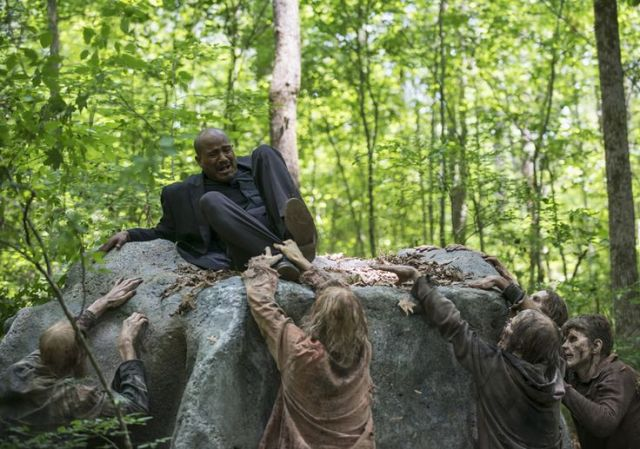 Gabriel Stokes (Seth Gilliam) in Episode 2 Photo by Gene Page/AMC